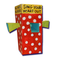 Sing-Your-Heart-Out Booth