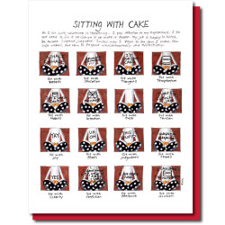 sit with cake